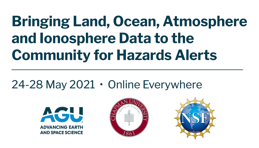 NSF Convergence Workshop on Bringing Land, Ocean, Atmosphere and Ionosphere Data to the Community for Hazards Alerts